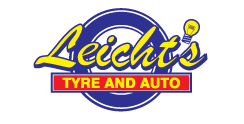 leichts tyre and auto logo